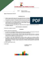Volterra Futura Interrogazione Relazione