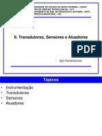6 Transdutores Sensores e Atuadores