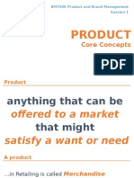 Product Core Concepts