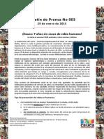 Boletín 003_ ¡ Cauca_ 7 Años Sin Casos de Rabia Humana!