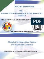 Planning for Mumbai Metro Rail Project