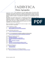 Estadistica Datos Agrupados