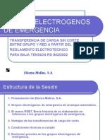 Grupos Electrógenos - Electra Molins