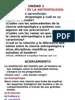 Alcances de La Antropología