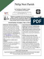 Bulletin Feb 1