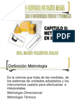 CAPITULO II METROLOGIA EN PROCESOS DE MANUFACTURA I.ppt
