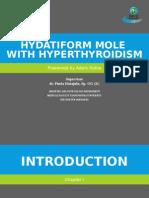 Hydatiform Mole With Hyperthyroid