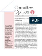 ACOG Ethics Guideline