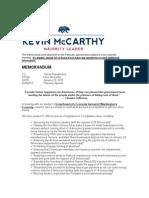 McCarthy memo