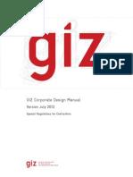GIZ Corporate Design Manual