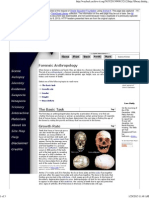 forensic science   forensic anthropology
