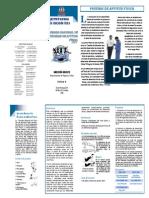 Brochure Pruebas de Aptitud Física Rep. Dom.