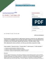 Revista Chilena de Pediatría - Efectividad y Seguridad de Salbutamol