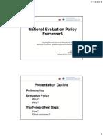 1-NEDA National Evaluation Policy Framework