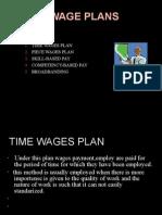Basic Wage Plans