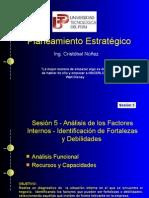 Estratégico - Análisis de factores internos