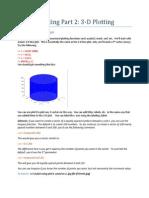 Mat Lab Plotting 2