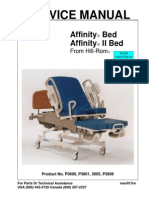 Hill-Rom Affinity Bed - Service Manual