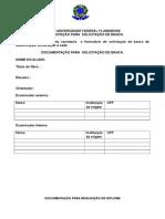 Documentos -Para Defesa e Diploma
