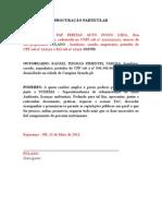 Modelo Procuracao-sudema (MODELO)