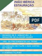 Ppt União Ibérica à Restauração