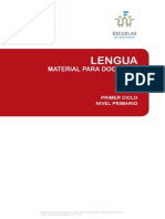 Lengua Escuelas Del Bicentenario