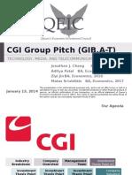 QEIC Tech - CGI Group Pitch - Final