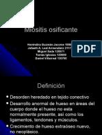 Miositis Osificante