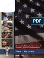 Report of the Military Compensation and Retirement Modernization Commission