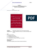 Bahasa Inggris SMP UN 2013 (Paket 2)