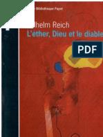 L'Ether, Dieu Et Le Diable - Wilhelm Reich