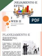Planejamento e Briefing