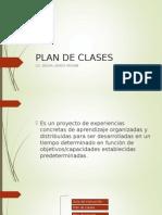 Plan de Clases