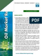 IEA Oil Market Jan 09 report