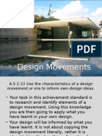 design movements and eras