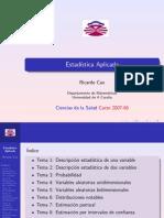 Estadística aplicada_presentaciones