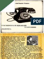 Codul BUnelor Maniere - Telefonul