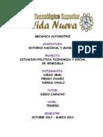 Entorno Nacional y Mundial Informe