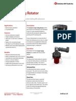E Style Tubing Rotator Technical Datasheet