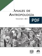 Anales de Antropología - Volumen 48-1