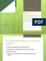 Luis Aguirre - Alternativas Para Conducir Agua en Condiciones de Sequía