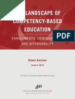 Competency Based Education Landscape