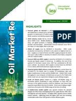 IEA Oil Market Dec 09 report