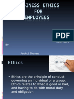 Ethics in the Workplace