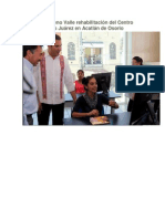 28-01-2015 Periodico Digital - Inaugura Moreno Valle Rehabilitación Del Centro Escolar Benito Juárez en Acatlán de Osorio
