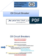 Oil Circuit Breakers