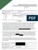 DOJ OIG Report -- Sharyl Attkisson
