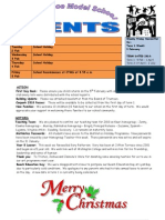 Events 18 December 2009