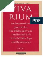 Vivarium - Vol Xlii, No 1, 2004