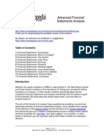 Advanced Financial Statement Analysis - Investopedia